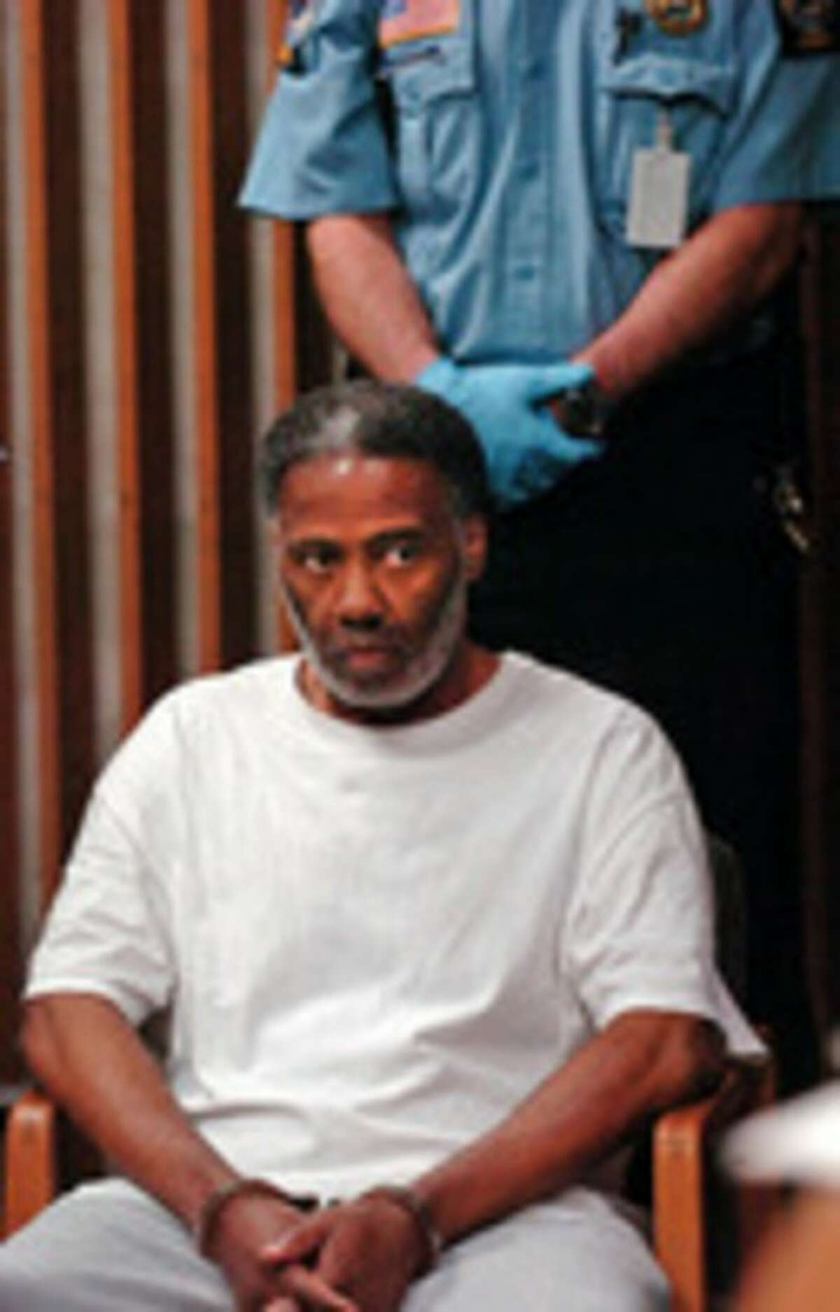 Hour file photo / Erik Trautmann Pernell McBride is being held on a one million dollar bond following his arraignment on charges of murder at Norwalk Superior Court Tuesday.