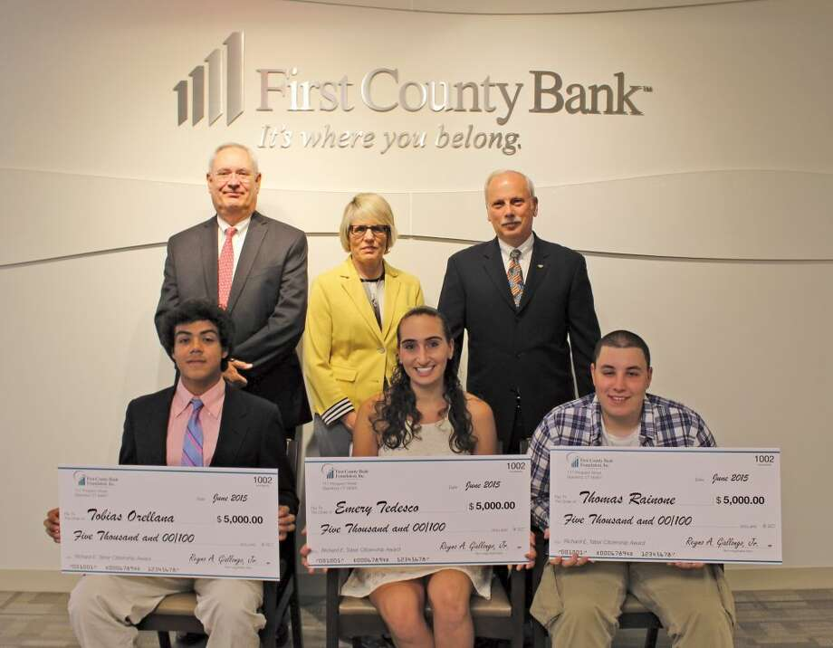 First County Bank awards scholarships