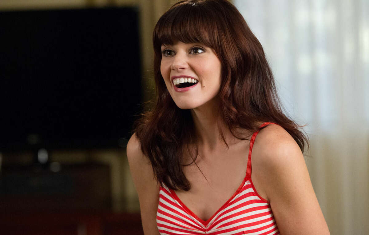 This image released by Universal Pictures shows Rachel Melvin in a scene from