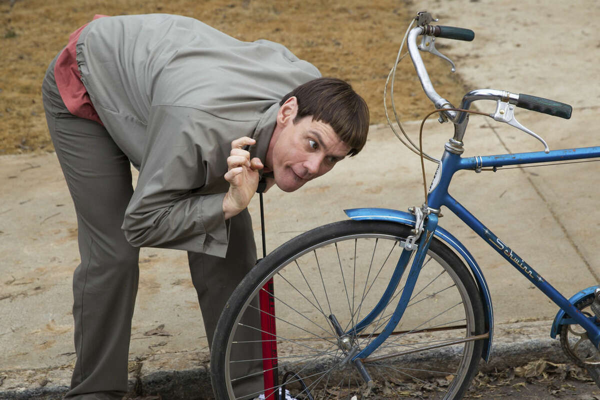 This image released by Universal Pictures shows Jim Carrey in a scene from