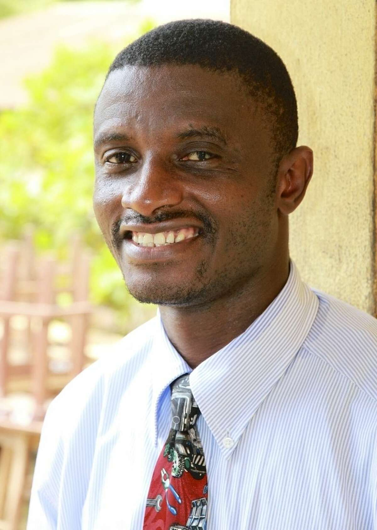 This handout photo provided by United Brethren in Christ, taken in 2013 shows Dr. Martin Salia. Salia, an African surgeon who is coming to the U.S. for treatment after contracting the Ebola virus received much of his surgical training through Christian missionary groups. Martin Salia is a citizen of Sierra Leone, though his family lives in Maryland as permanent U.S. residents. (AP Photo/Jeff Bleijerveld, United Brethren in Christ)