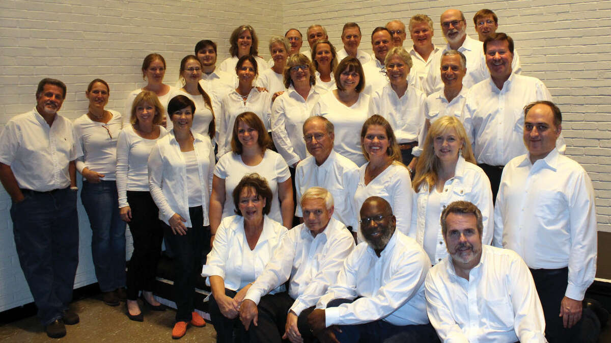 Group photo for the Wilton Singers