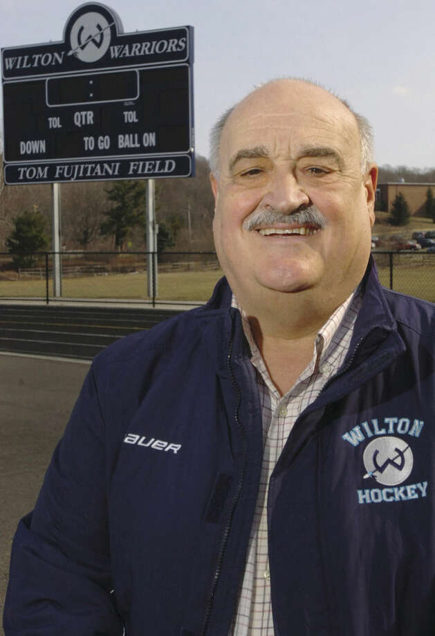 Hour photo/Erik TrautmannChristy Hayes, Wilton High School's former athletic director and three-sport coach at St. Joseph, will be inducted into the Connecticut High School Hall of Fame.