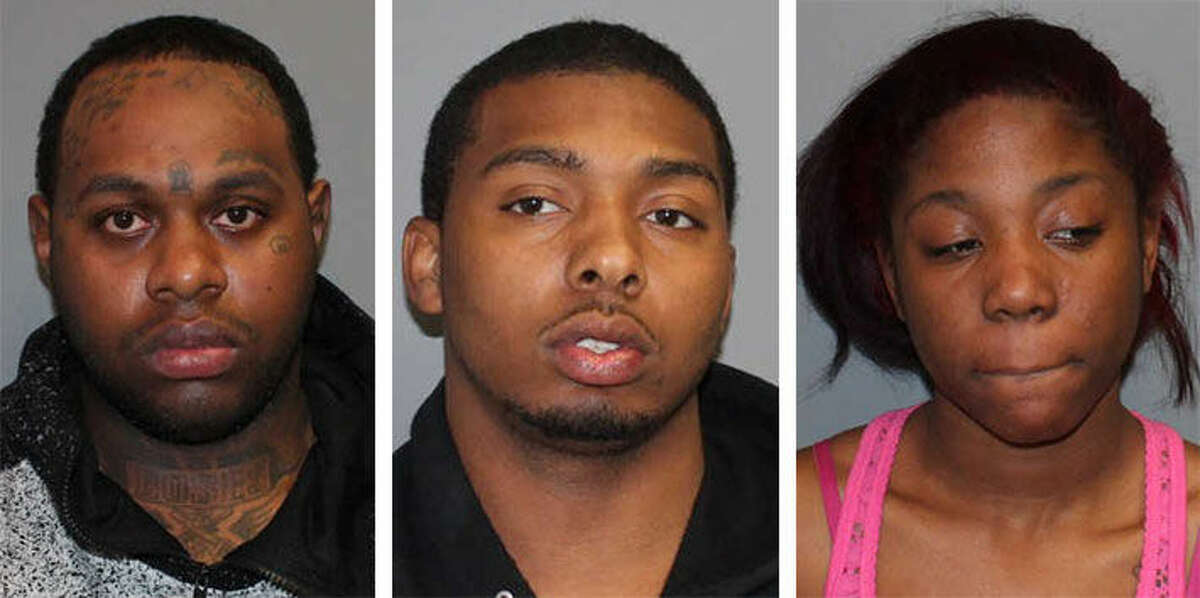 Leroy Pressley, Kevin Reese and Synfane Mims were arrested by Norwalk Police Wednesday night.