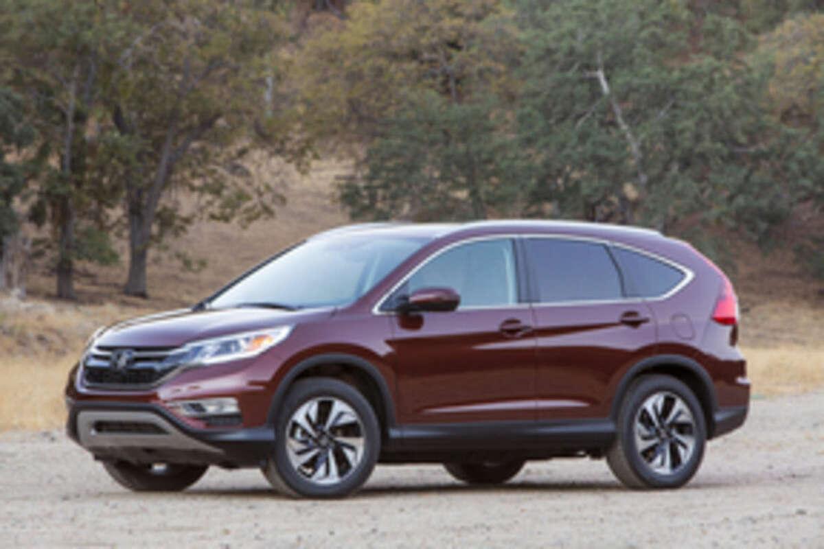 This undated product imaged provided by Honda shows the 2015 Honda CR-V. (AP Photo/Honda)