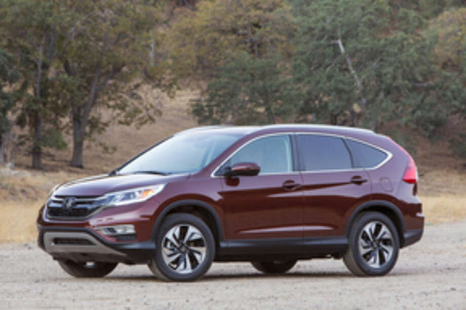 This undated product imaged provided by Honda shows the 2015 Honda CR-V. (AP Photo/Honda)
