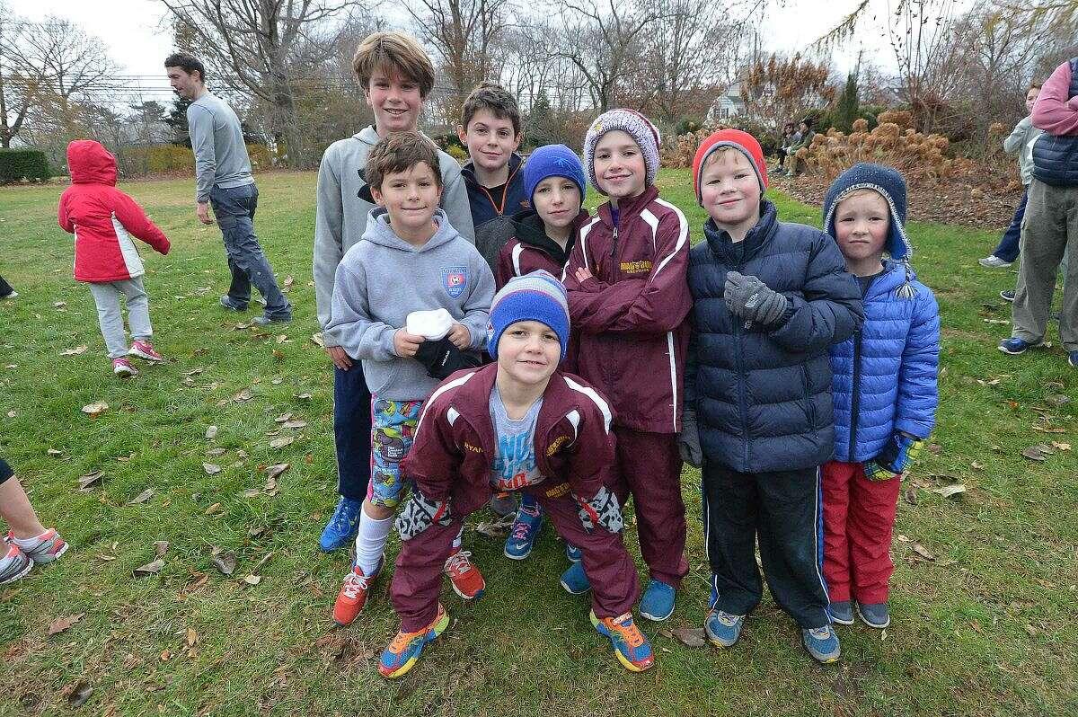 Hour Photo/Alex von Kleydorff The Rowayton Turkey Trot annual 5k and 1 mile family fun run