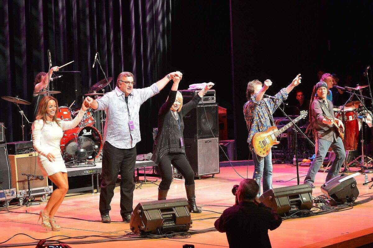 Hour Photo/Alex von Kleydorff 5th annual 'Night of Music' at Fairfield University's Quick Center for The Performing Arts Saturday night to benefit the Lebo-DeSantie Center for Liver and Pancreatic Disease at St. Vincent Hospital