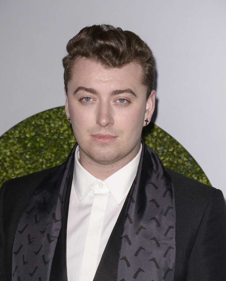Singer Sam Smith attends the 2014 GQ Men of the Year Party at Chateau Marmont in Los Angeles on Thursday, Dec. 4, 2014. (Photo by Dan Steinberg/Invision/AP Images)