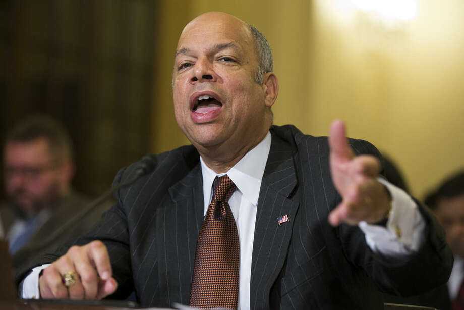 Homeland Security Secretary Jeh Johnson testifies on Capitol Hill in Washington, Tuesday, Dec. 2, 2014, before a House Homeland Security Committee hearing on the impact of President Barack Obama's executive action on immigration. (AP Photo/Evan Vucci)