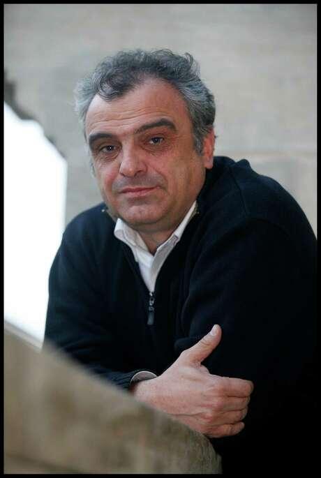Jean-Marc Gonin, reporter for Le Figaro magazine in Paris Photo: Melanie FREY/ Fedephoto, Credit: © Melanie FREY/ Fedephoto - Contact: (+33) 06 12 37 29 5 / Courtesy / © Melanie FREY/ Fedephoto