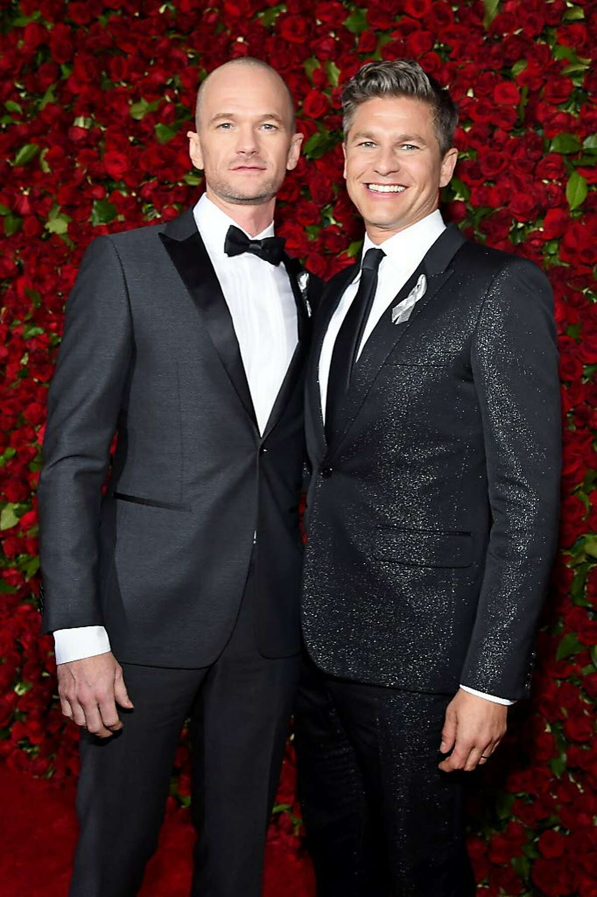 Neil Patrick Harris and David Burtka attends the 70th Annual Tony Awards at The Beacon Theatre on June 12, 2016 in New York City.