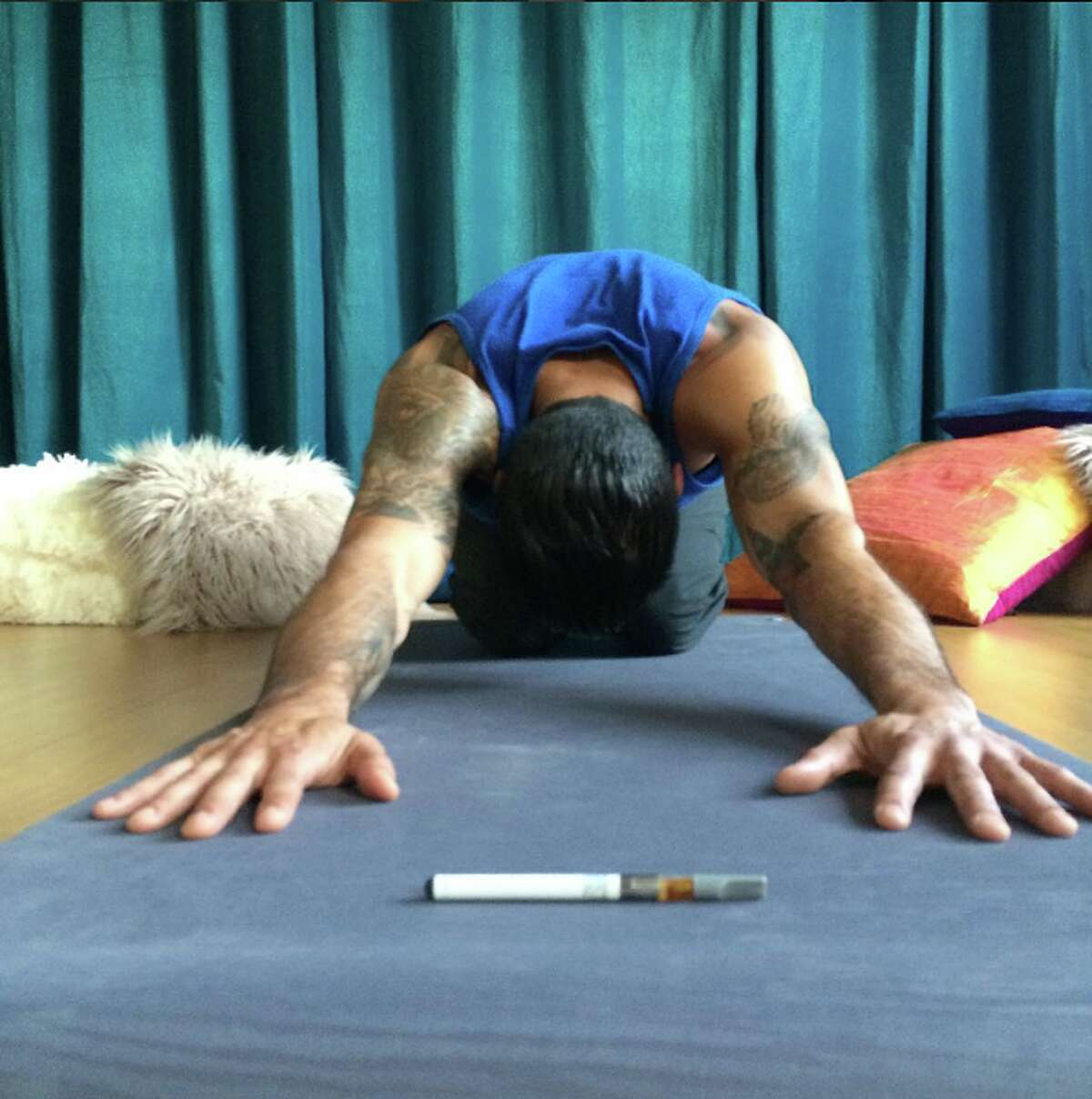 Ganga Yoga: A weekly cannabis-enhanced, relaxation-based hatha yoga that emphasizes relaxation, pain-relief, well-being, and the cultivation of inner peace. Ganja Yoga is based on mindfulness and good alignment for injury-prevention designed for any body.