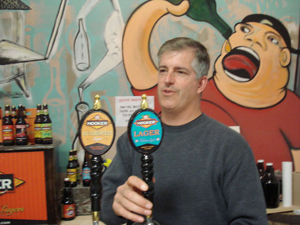 Curt Cameron, President of Thomas Hooker Brewing