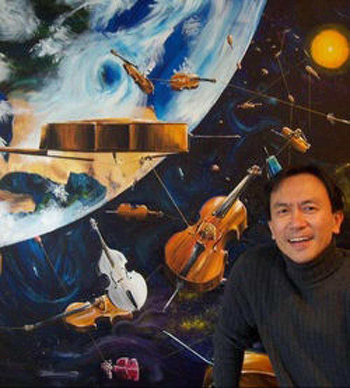 Westport artist, Eric Chiang