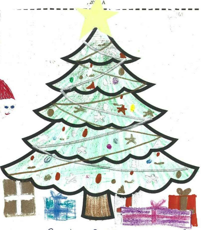 The Hour's Christmas Tree Coloring Contest