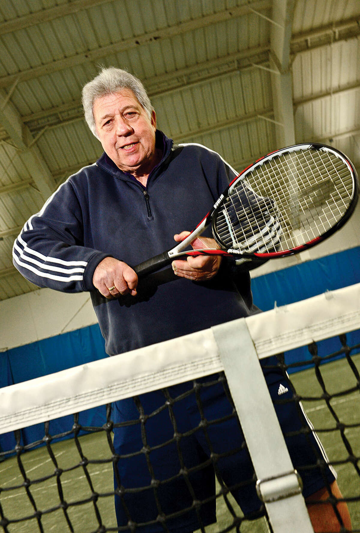Glen Englander, a tennis pro at Four Seasons Racquet Club in Wilton, says he has never met a student who couldn't reach their full potential.