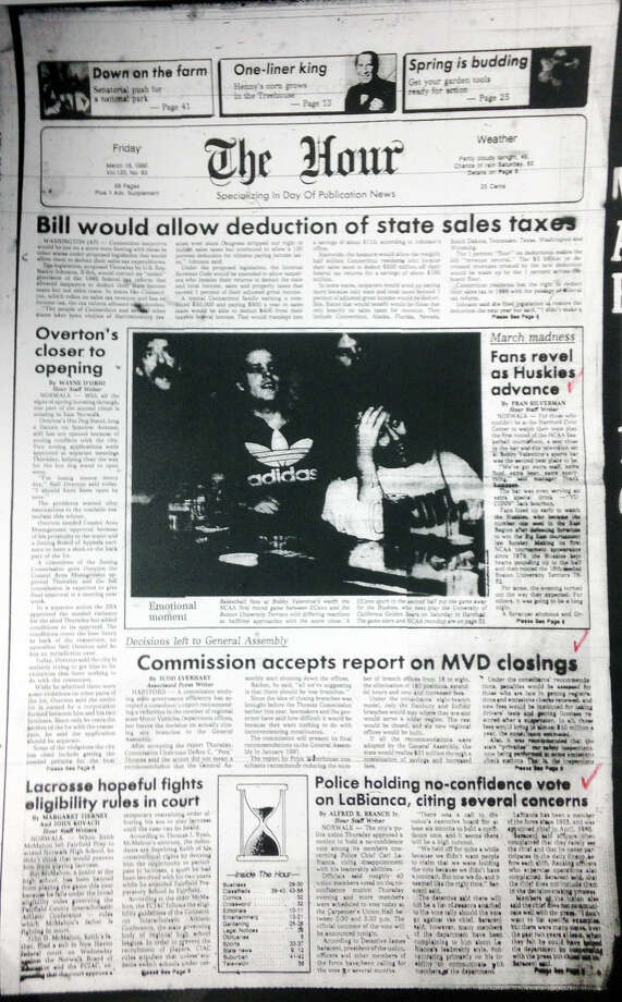 The Hour's Frontpage