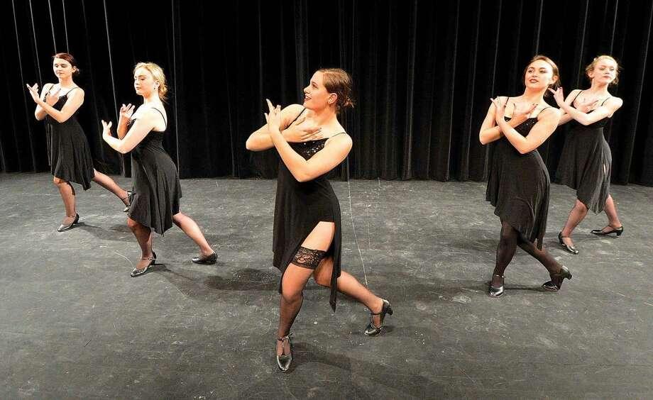 Hour Photo/Alex von Kleydorff. The Wilton High School Senior Show Crazytown