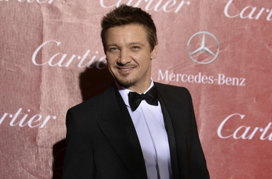 FILE - In this Jan. 4, 2014 file photo, Jeremy Renner arrives at the Palm Springs International Film Festival Awards Gala at the Palm Springs Convention Center in Palm Springs, Calif. Model Sonni Pacheco has filed for divorce from actor husband Renner after 10 months of marriage, according to court documents filed in Los Angeles on Dec. 5, 2014. The petition cites irreconcilable differences as the reason for the separation. (Photo by Jordan Strauss/Invision/AP, File)