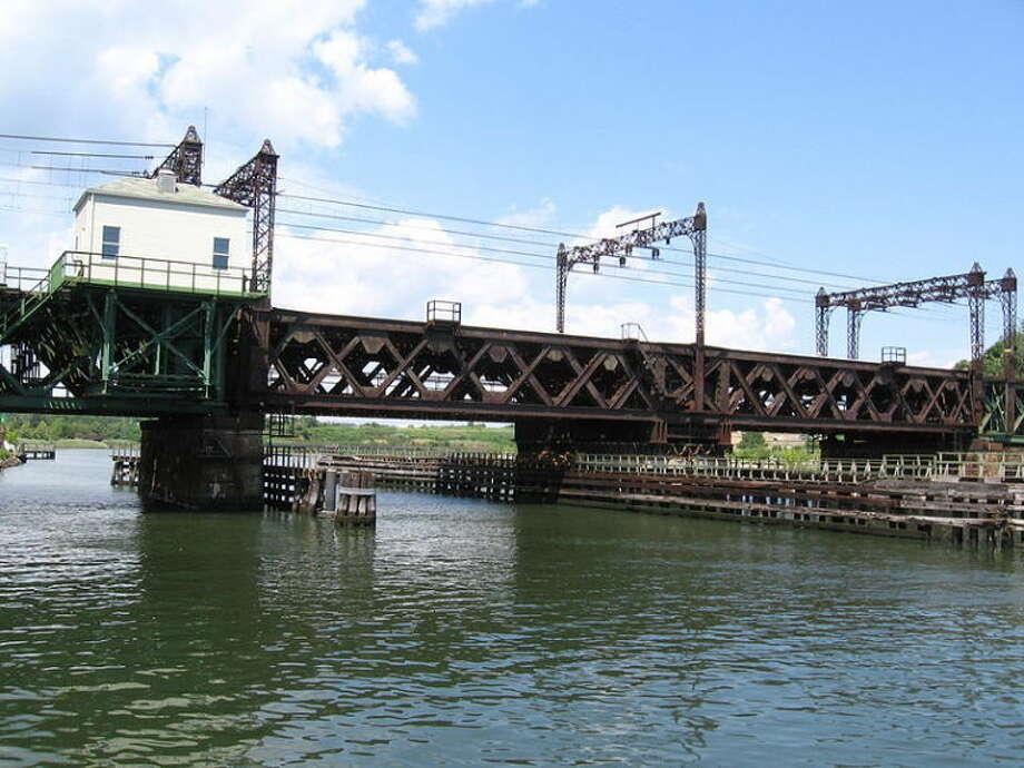 Norwalk River Railroad Bridge
