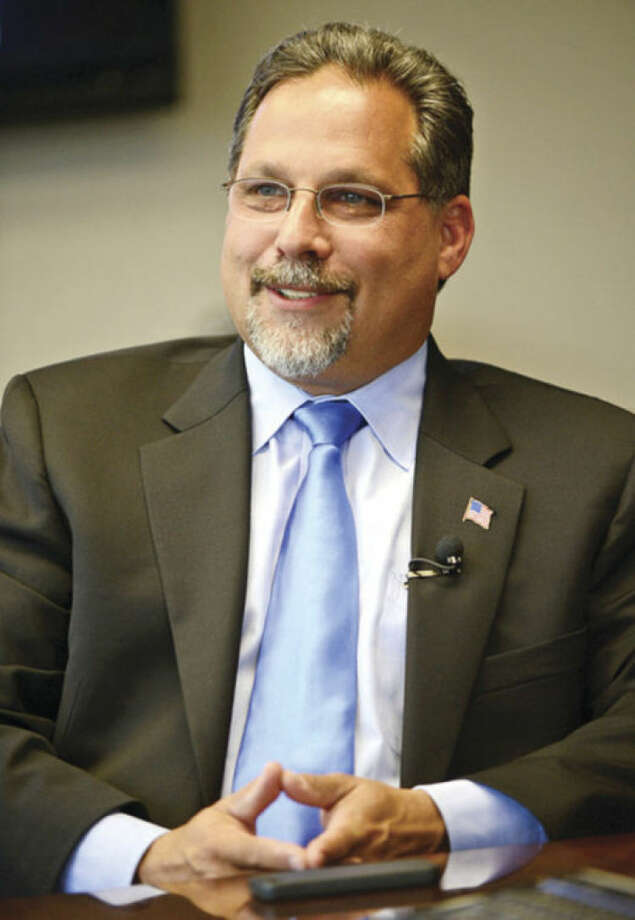 Democratic candidate for state Representative, Andy Garfunkel.Hour photo / Erik Trautmann