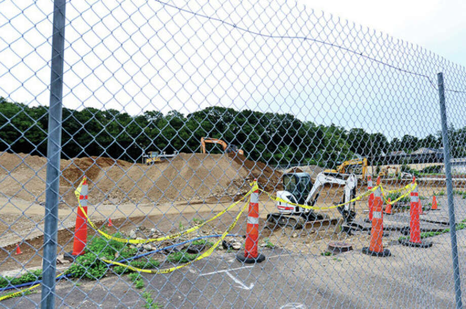 Hour photo / Erik TrautmannBJ is applying for zoning to open a branch of the big box store at the former Elinco property at 272 Main Ave. / (C)2012, The Hour Newspapers, all rights reserved