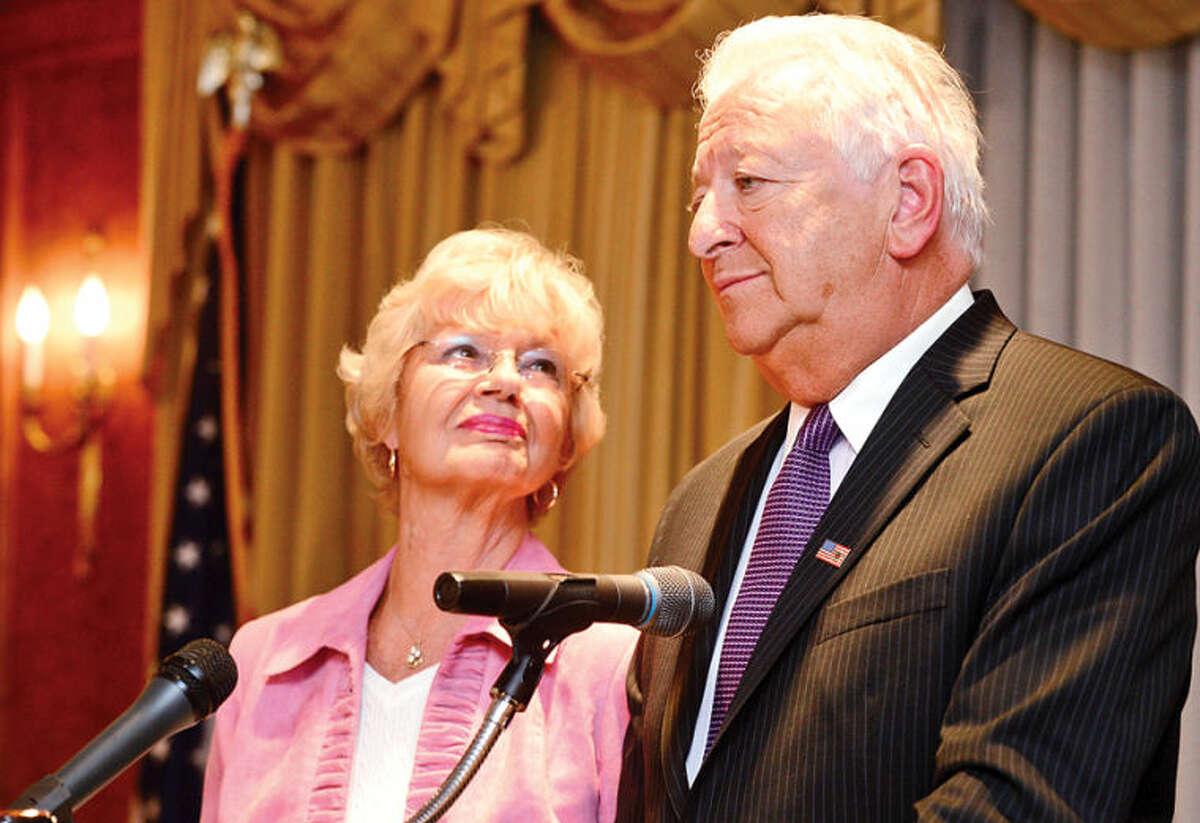 Richard Moccia and his wife Barbara