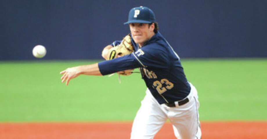 University of Pittsburgh photo Pitt senior lefty Matt Iannazzo, a Norwalk resident, has been selected to the preseason All-Big East first team for the second straight season. / 2011 Pete Madia
