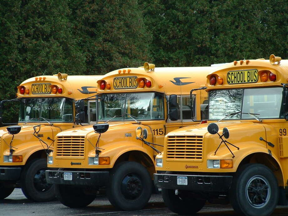 Up to 15 of the school board's 55 full-size buses must be moved from the city-leased bus depot property at 332-334 Wilson Ave. to Eversource's property diagonally across the street at 319 Wilson Ave. during the 25-day utility project.
