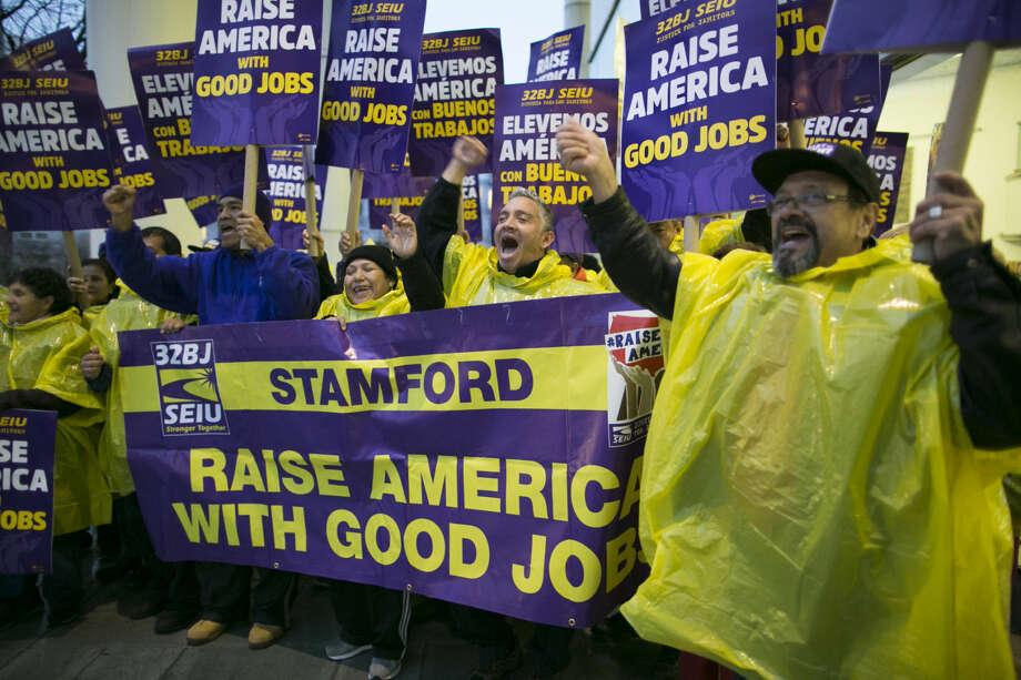 Janitors Rally