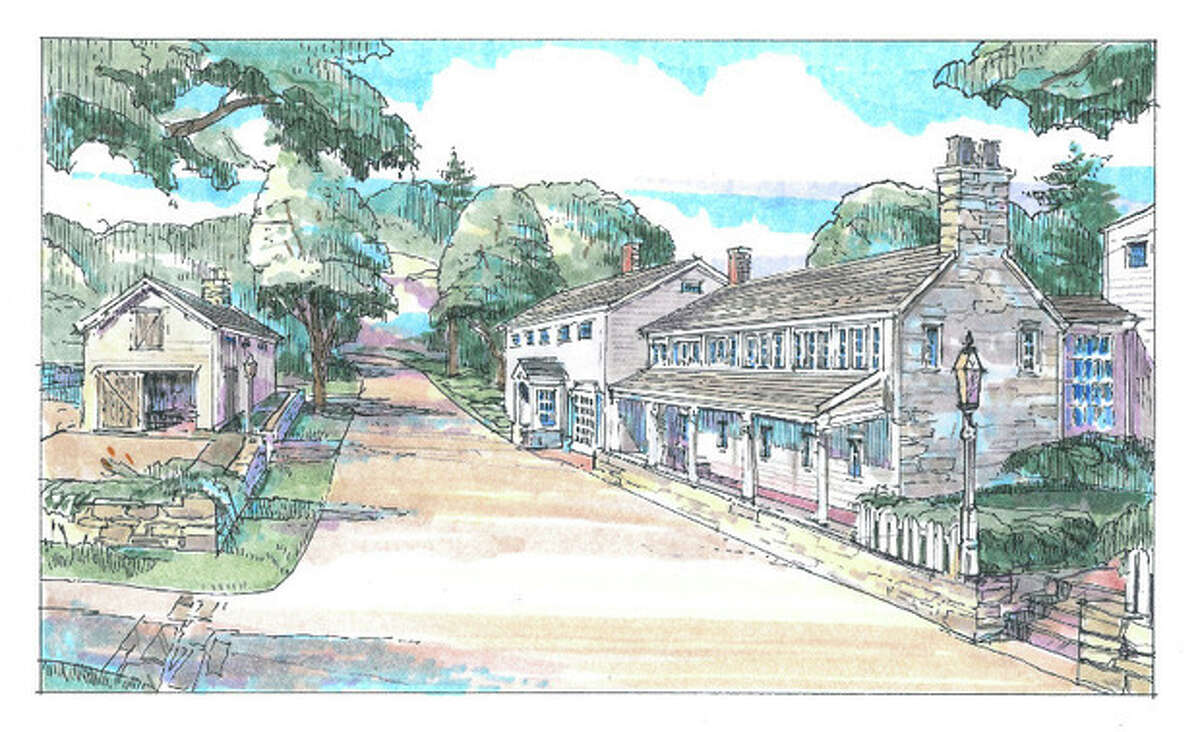 Contributed graphic Rendering of Silvermine Tavern proposed renovation.