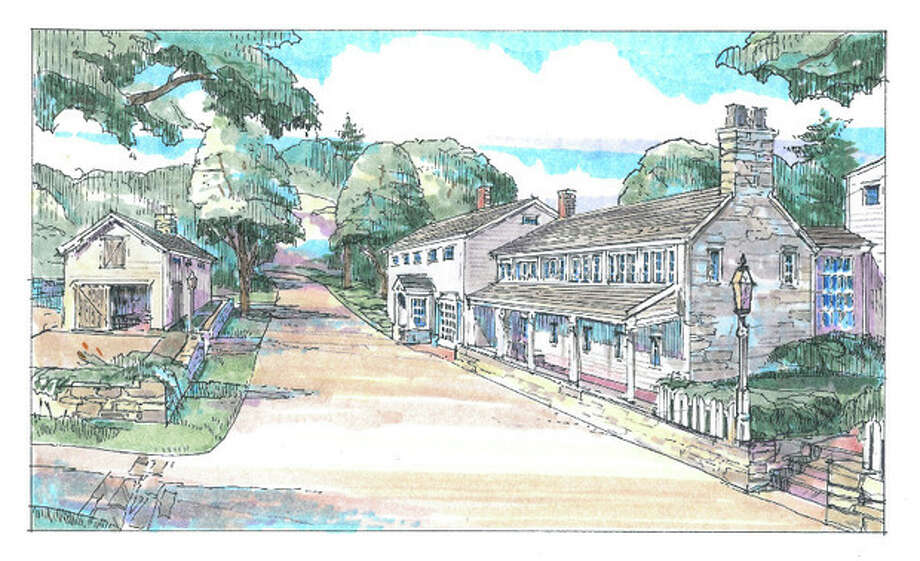 Contributed graphicRendering of Silvermine Tavern proposed renovation.