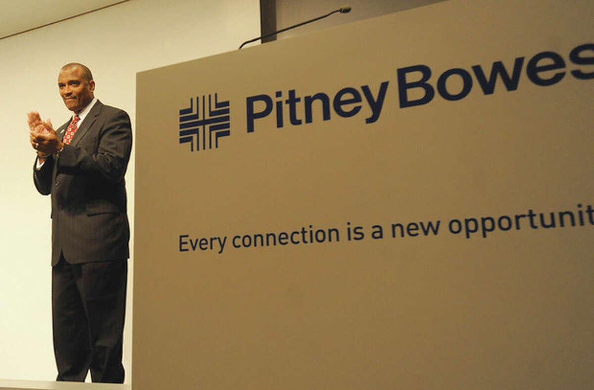 Dr. Fred McKinney, President and Chief Executive Officer of the Greater New England Minority Supplier Development Council at Pitney Bowes in Stamford for the Diversity Summit. File photo/Matthew Vinci