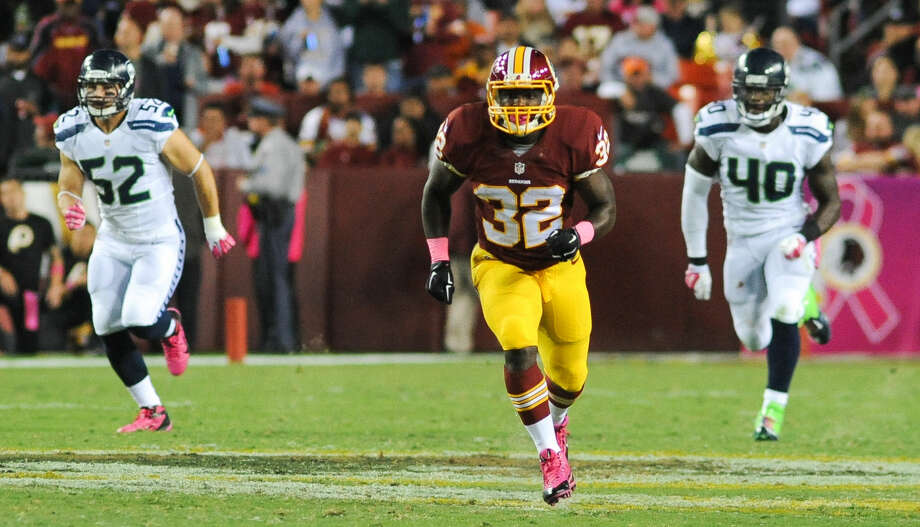 Silas Redd of the Washington Redskins, a former Norwalk resident.
