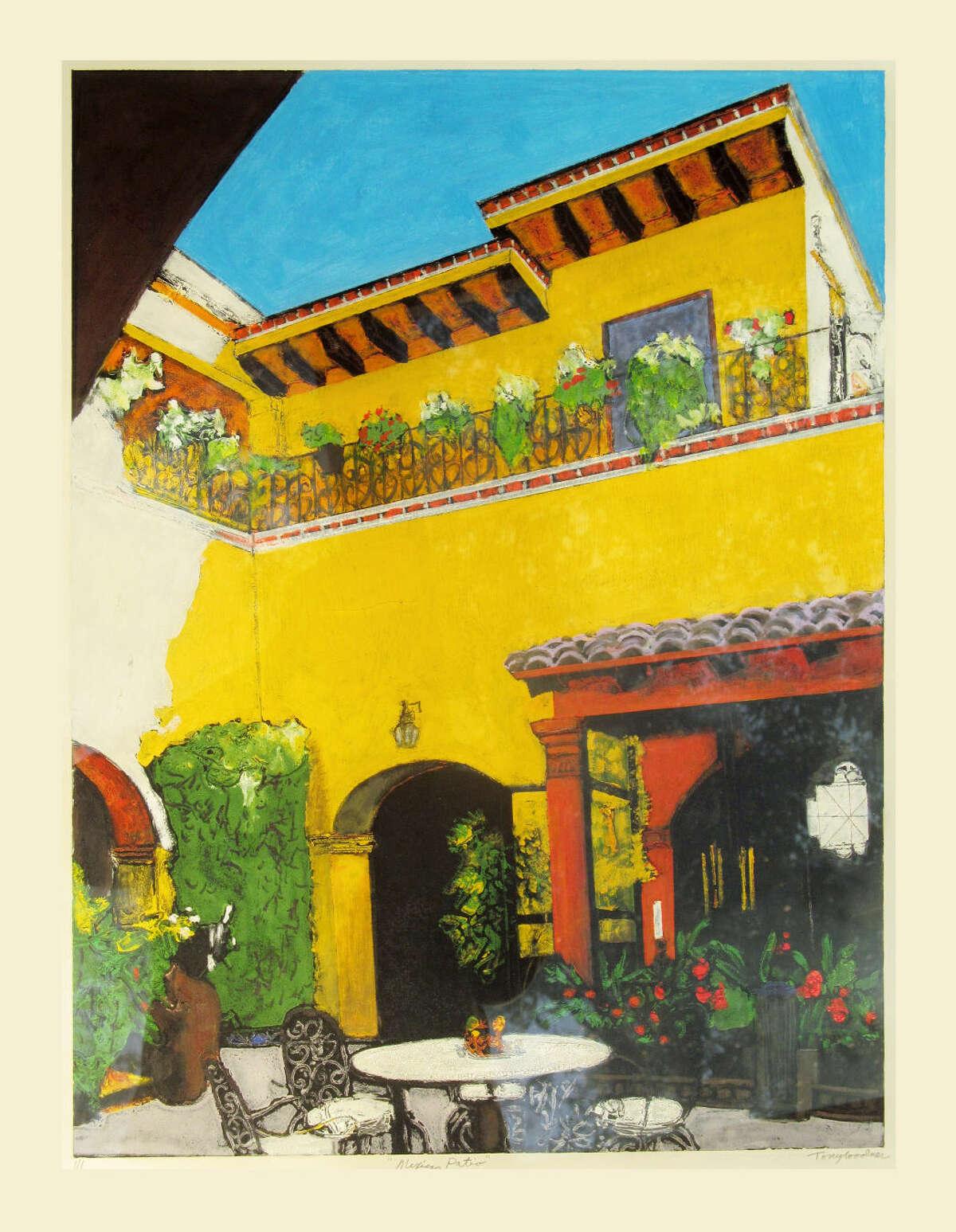 'Mexican Patio'