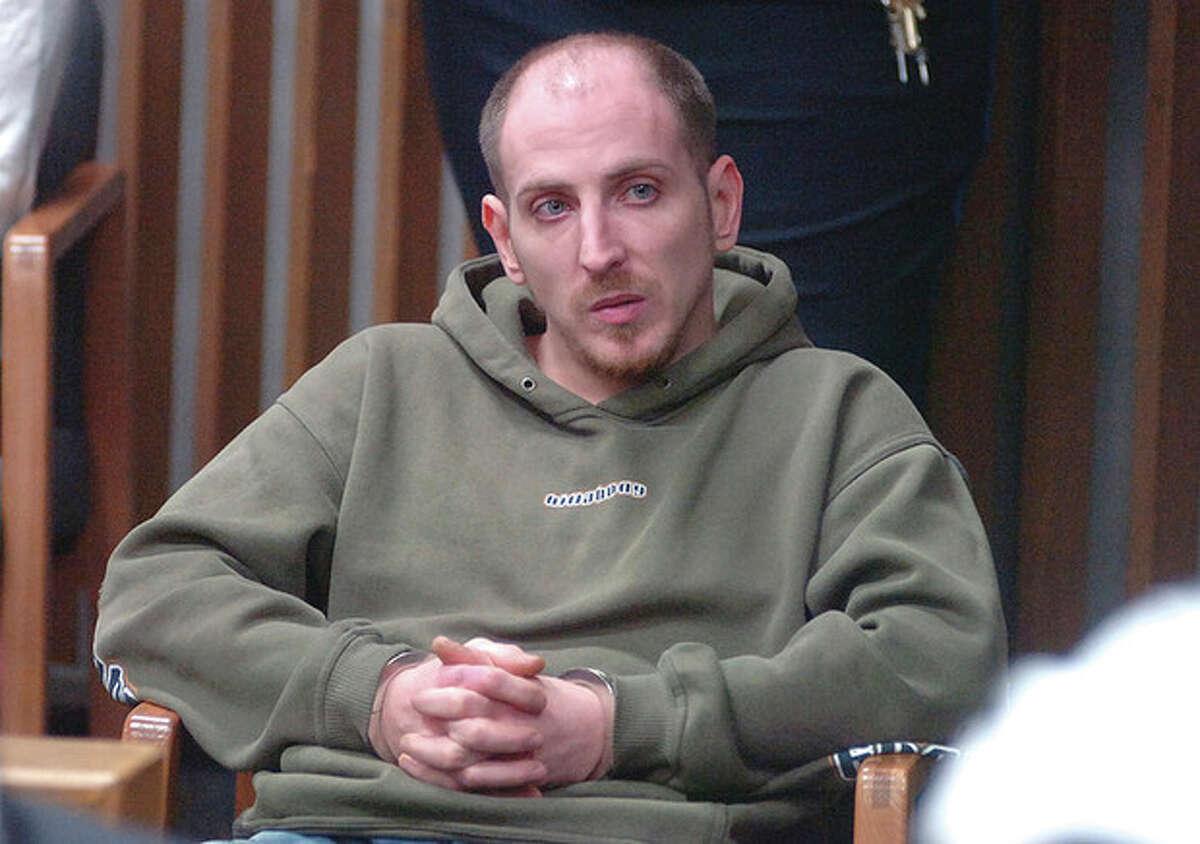 Hour Photo/ Alex von Kleydorff. Justin Smith in Norwalk Superior Court