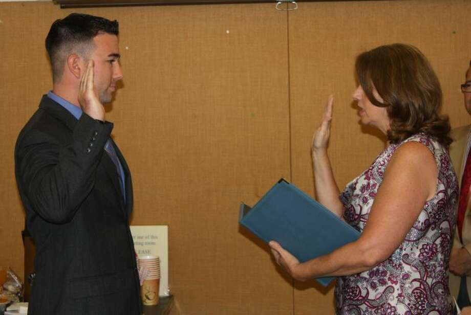 Wilton welcomes new officers