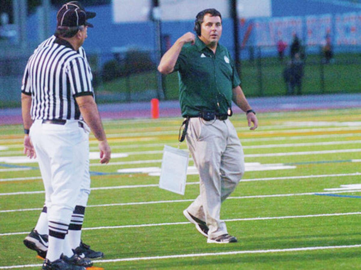 High School Football -- Sean Ireland Era starts with a win for Norwalk