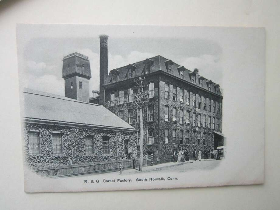 POSTCARD- SOUTH NORWALK, CT.- R. & G. CORSET FACTORY- UNDIVIDED BACK