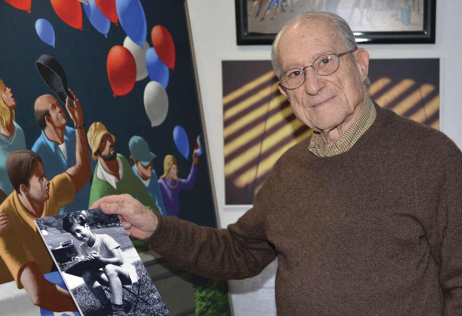 Contributed photoEsteemed Westport artist, Leonard Everett Fisher will jury the Westport High School Student ArtExhibition.