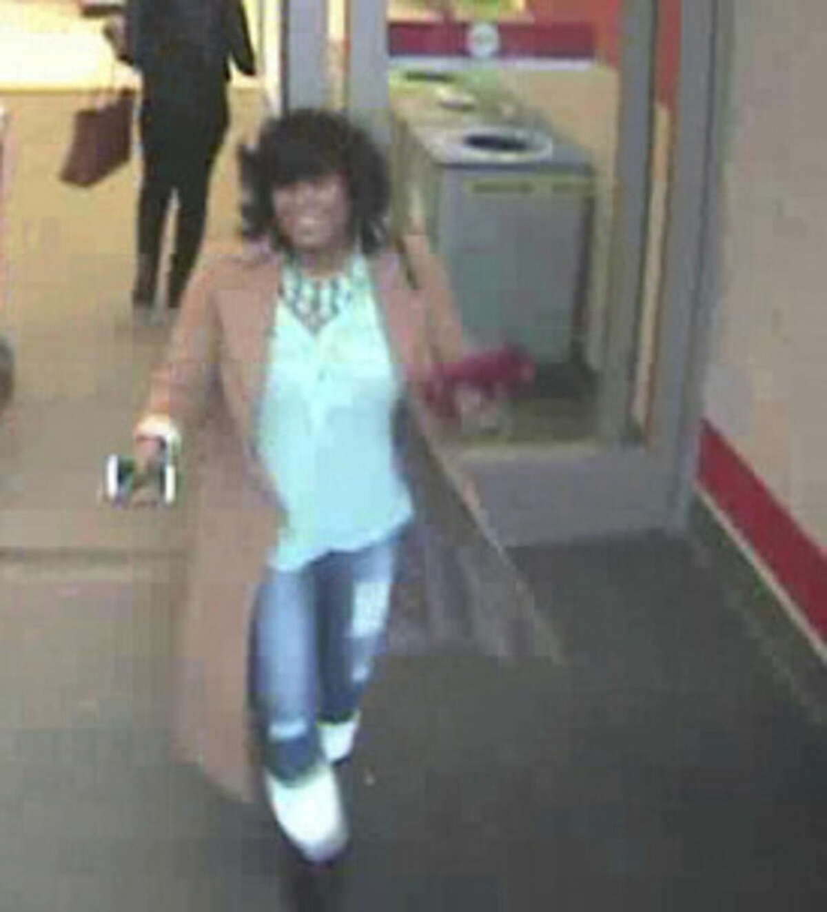 Police seek suspect who allegedly stole wallet from elderly woman in Walmart.