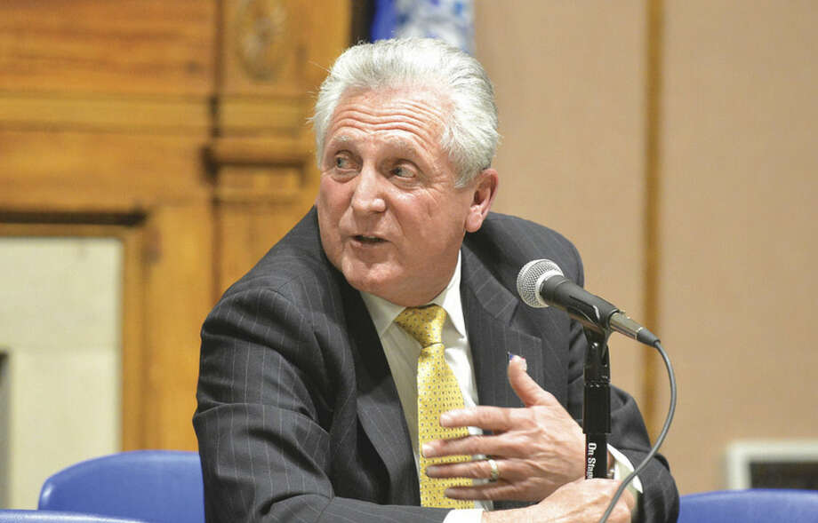 Norwalk Mayor Harry Rilling. (Hour Photo/Alex von Kleydorff )