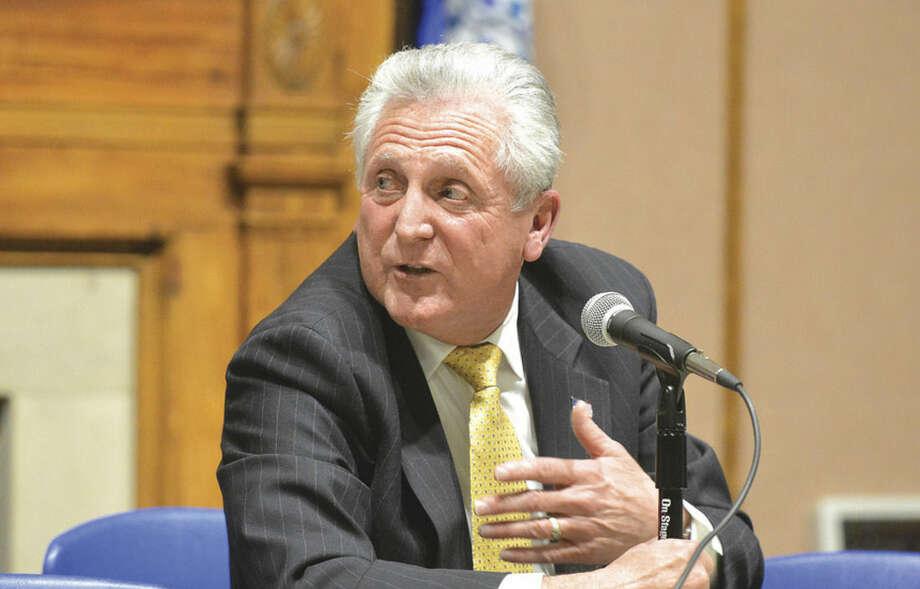 Norwalk Mayor Harry Rilling. (Hour Photo/Alex von Kleydorff )
