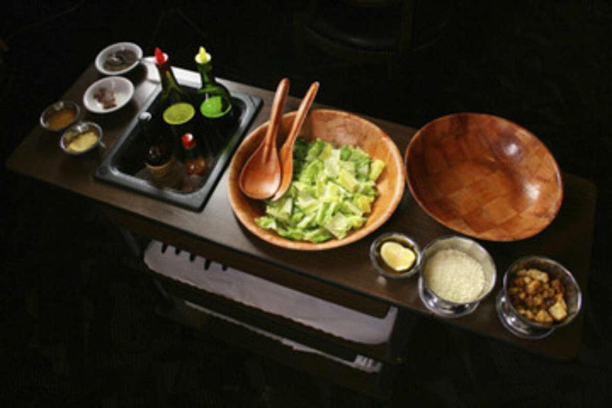 Contributed photo Caesar salad cart.