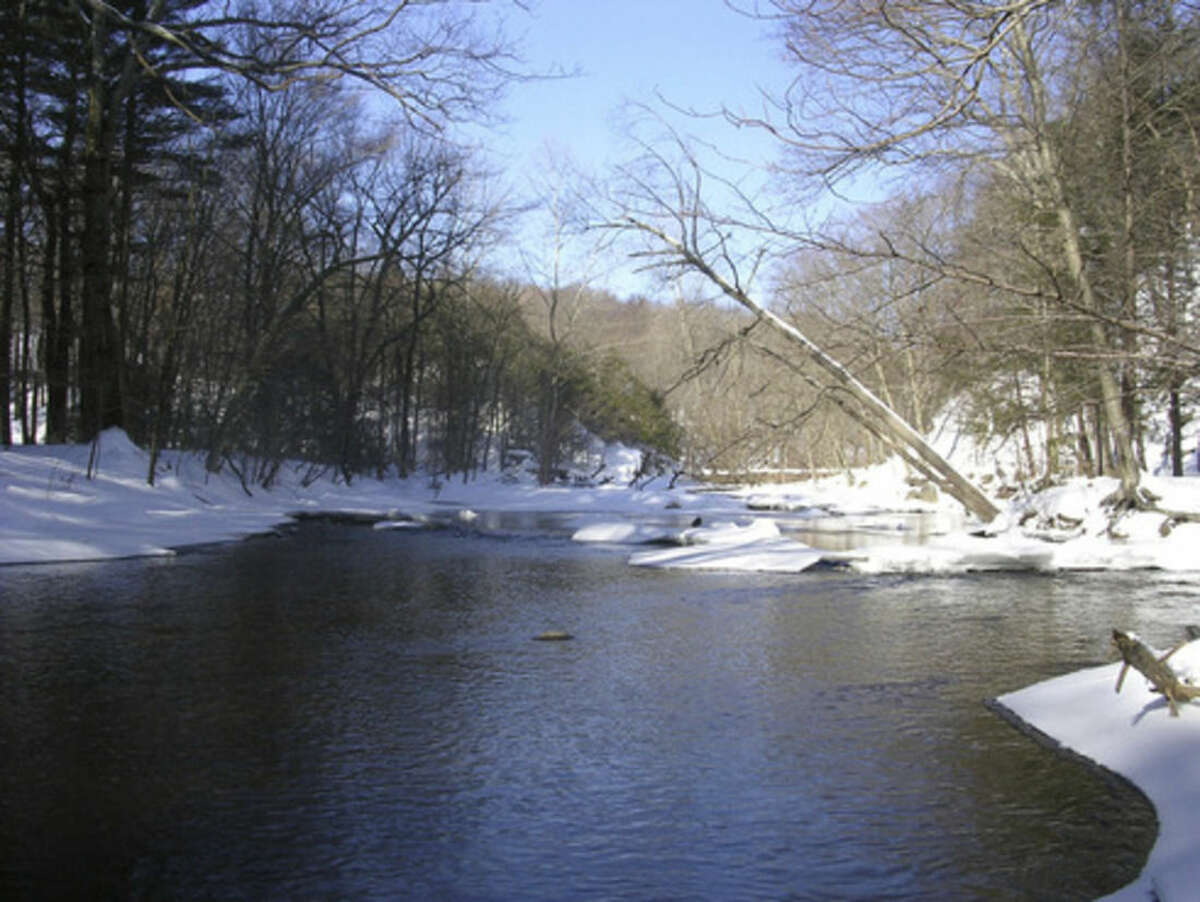 Photo by Rob McWilliams The Mill River at Sleeping Giant.