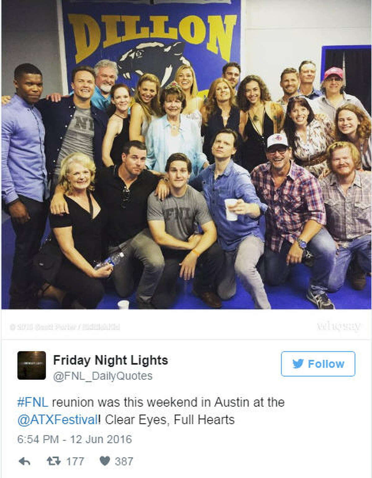 Photo by: Twitter/@FNL_DailyQuotes KEEP CLICKING FOR A THEN-AND-NOW LOOK AT THE STARS OF THE SHOW.