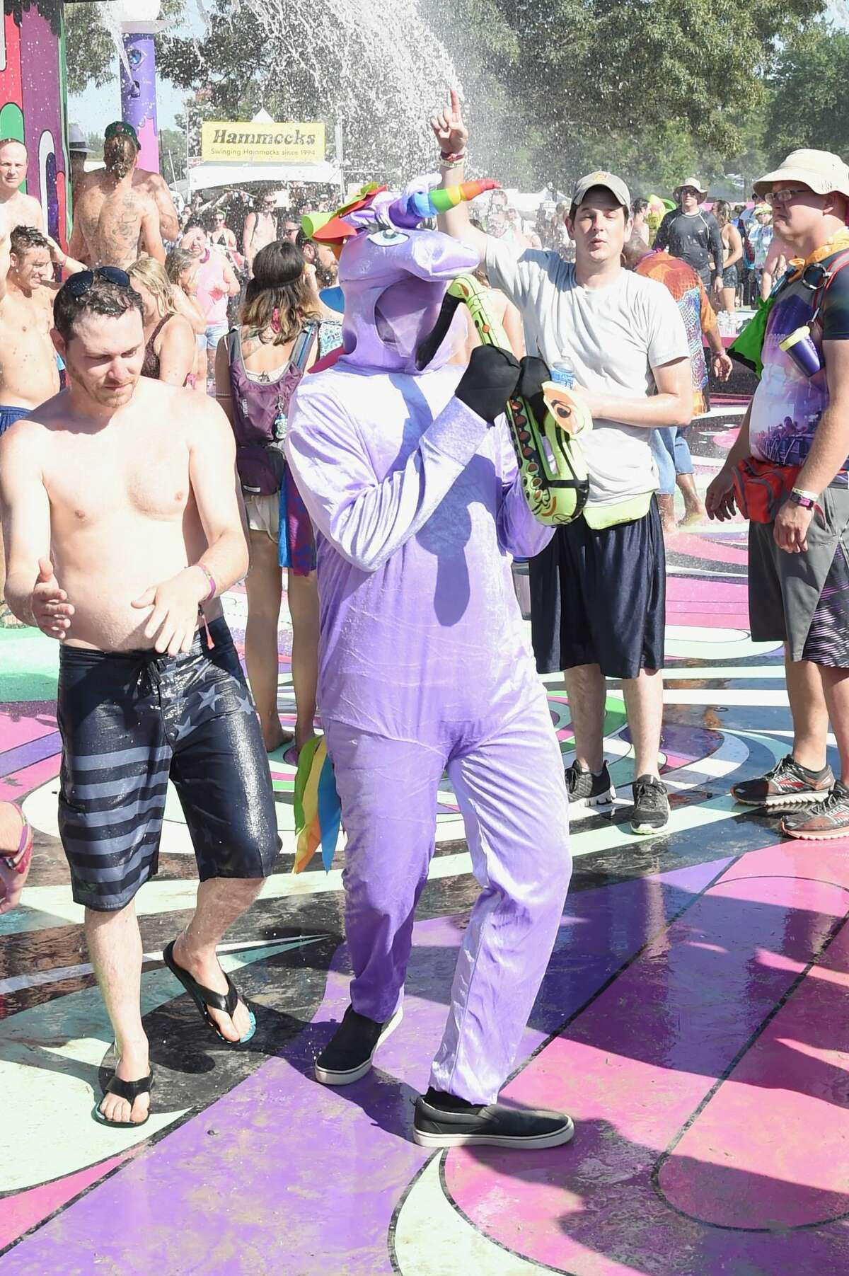 Worst: Purple unicorns in the splash pad.