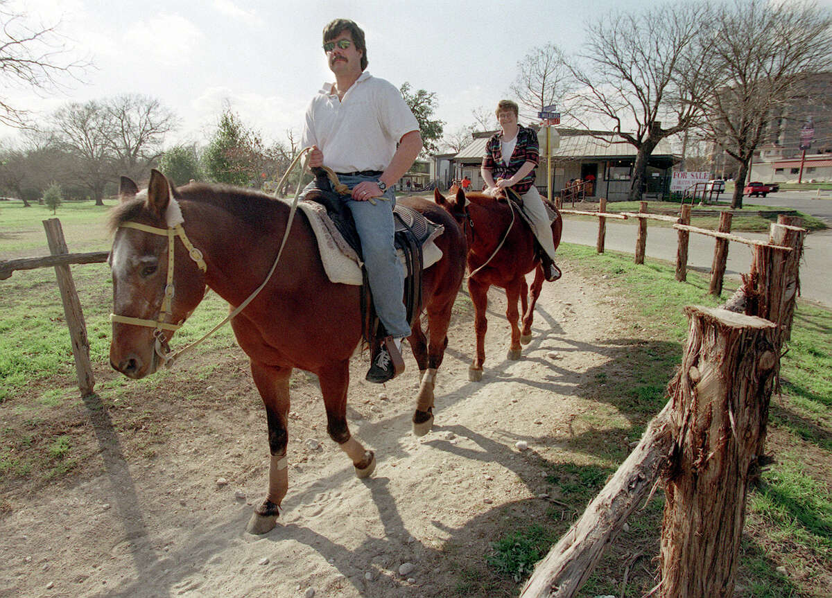 3. Horseback ride at the Brackenridge Stables The exact opening date of Brackenridge Stables is uncertain, but it goes back to at least 1937. The stables closed on May 12, 1999, and the horses were sold to a dude ranch.