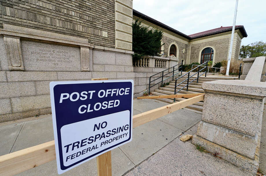 The downtown Stamford post office has closed and is up for sale.